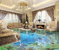 livingroom world custom 3d stereoscopic living room wallpaper 3d floor tiles the