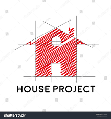 house project vector sign house project stock vector 324754502 shutterstock
