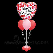 heart balloon bouquet big heart balloon bouquet affairs afloat balloons