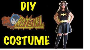 Batwoman Halloween Costume Minute Diy Halloween Batgirl Costume