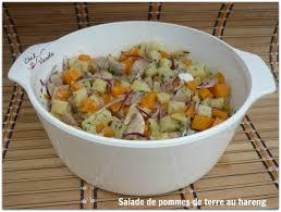 cuisiner le hareng frais salade de pomme de terre au hareng chez vanda
