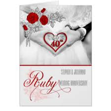 anniversary cards invitations zazzle au