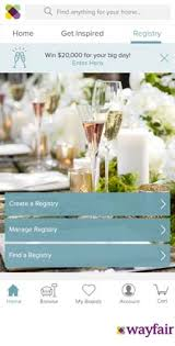 bridal registry website wayfair launches bridal registry home furnishings news
