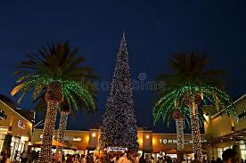 citadel tree lighting 2017 christmas tree at citadel outlets editorial image image of