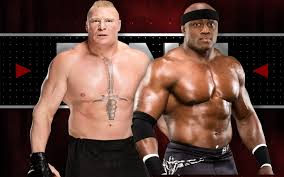 on the bobby lashley vs brock lesnar rumors