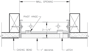 Ceiling Access Doors by Williams Brothers Rdw410 Recessed Drywall Access Door Access Panel