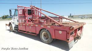 2004 international durastar 4300 winch truck item da6790