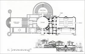 057 high renaissance architecture raphael reconstructed plan of