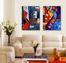 2017 home decor picasso style abstract top rated waterproof canvas