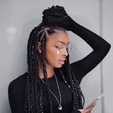 how many bags for big box braids nice 45 breathtaking hairstyles with big box braids being