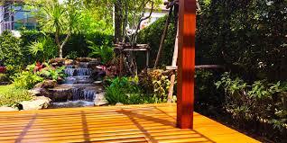 Tropical Backyard Ideas Garden Design Landscaping Companies Garden Patio Designs Small