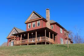 luxury craftsman mountain home