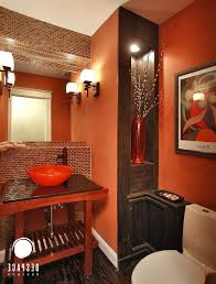 fascinating burnt orange bathroom 31 burnt orange and brown