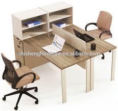 bureau poste de travail bureau partition cabine ouverte 2 places bureau poste de travail
