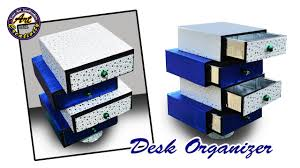 Desk Drawer Organizer by Diy Desk Organizer Drawer Organizer From Card Board Best Out