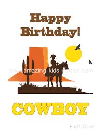 cowboy birthday cards u0026 decorations