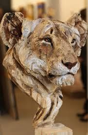 cool desk statues wooden sculptures animal best sculpture images