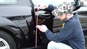 lexus chrome accessories how to add install chrome door edge molding trim to your car diy