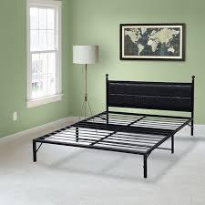 Metallic Bed Frame Model L Plus Easy Set Up Bed Frame Steel Bed Frame