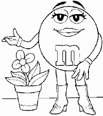 M And M Coloring Pages 29 M Coloring Pages M Coloring 11 Free M Coloring Pages