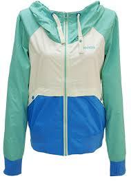 Bench Windbreaker Bench Anchored Jacke Blka1817 Jacket Aqua Green Jacke Women Damen