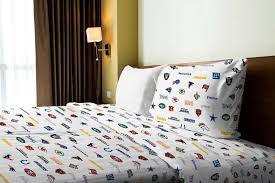 Steelers Bedding Nfl Bedding League Sheet Sets Team Pillowcases Obedding Com