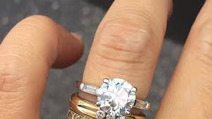 engagement wedding rings images The best wedding and engagement rings to mix and stack vogue jpg