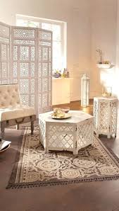 morrocan interior design moroccan inspired side table moroccan style side table white
