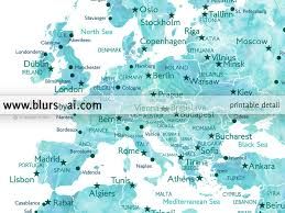 map of europe with country names and capitals us map labeled with capitals map of europe with country names and