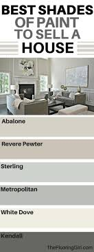 what are the best paint colors for selling your house pewter