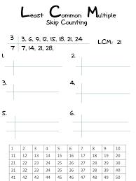 lcm least common multiple least common multiple classroom