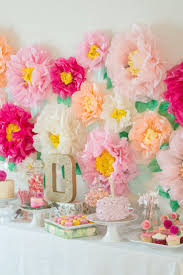 How To Decorate Birthday Party At Home by Best 25 Flower Party Themes Ideas On Pinterest Butterfly Party