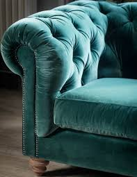 teal chesterfield sofa velvet chesterfield sofa by grey
