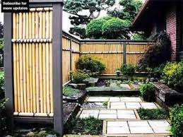 Fence Ideas For Small Backyard Bamboo Fencing Design Ideas Fence Ideas And Designs Youtube