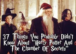 harry potter et la chambre des secrets vk 37 things you probably didn t about harry potter and the