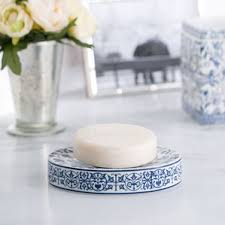 Blue And White Bathroom Accessories by Bath Accessories Birch Lane
