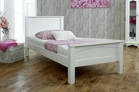 single bed frame white wooden bed frame pine wood single white