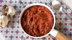 cuisine des balkans l ajvar caviar des balkans recette par les filles à table