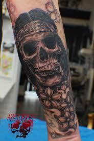 skull tattoo by absurdus666 on deviantart