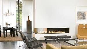 Modern Fireplace Three Sided Fireplace I Modern Fireplace