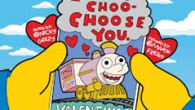 simpsons valentines day card simpsons valentines gift gift ideas