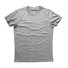 royalty free silhouette of the gray t shirt template pictures
