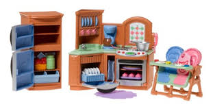 Loving Family Kitchen Furniture Fisher Price Loving Family Kitchen Toys