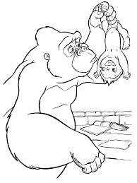 coloring pages baby tarzan coloring pages best coloring pages for kids