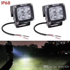 fcc compliant led lights 40w cree led light offroad driving run d led driving lights with