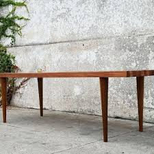 Slat Bench Coffee Table Sunbeam Vintage Coffee Tables