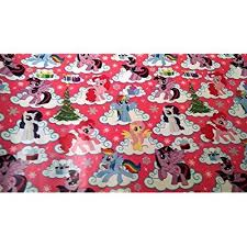 my pony christmas wrapping paper christmas wrapping my pony paper gift greetings 1
