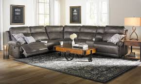 Sectional Sofa With Storage Pierson Power Reclining Storage Sectional With Usb The Dump