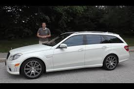 mercedes e 6 3 amg i bought a mercedes e63 amg wagon and drove it 1 200