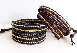 bead wrap bracelet leather images Fabflamingowraps exclusive wrap bracelets petra essence JPG